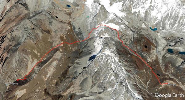 Von Thagna über den Cho La nach Dzongla