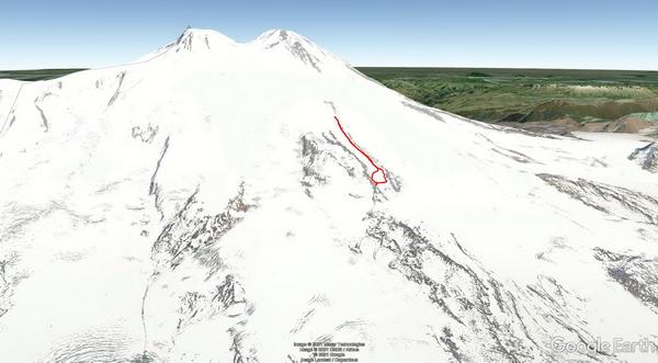 Erster Gipfelversuch