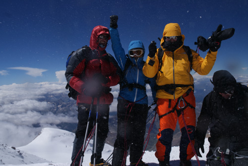 Gipfelerfolg am Elbrus